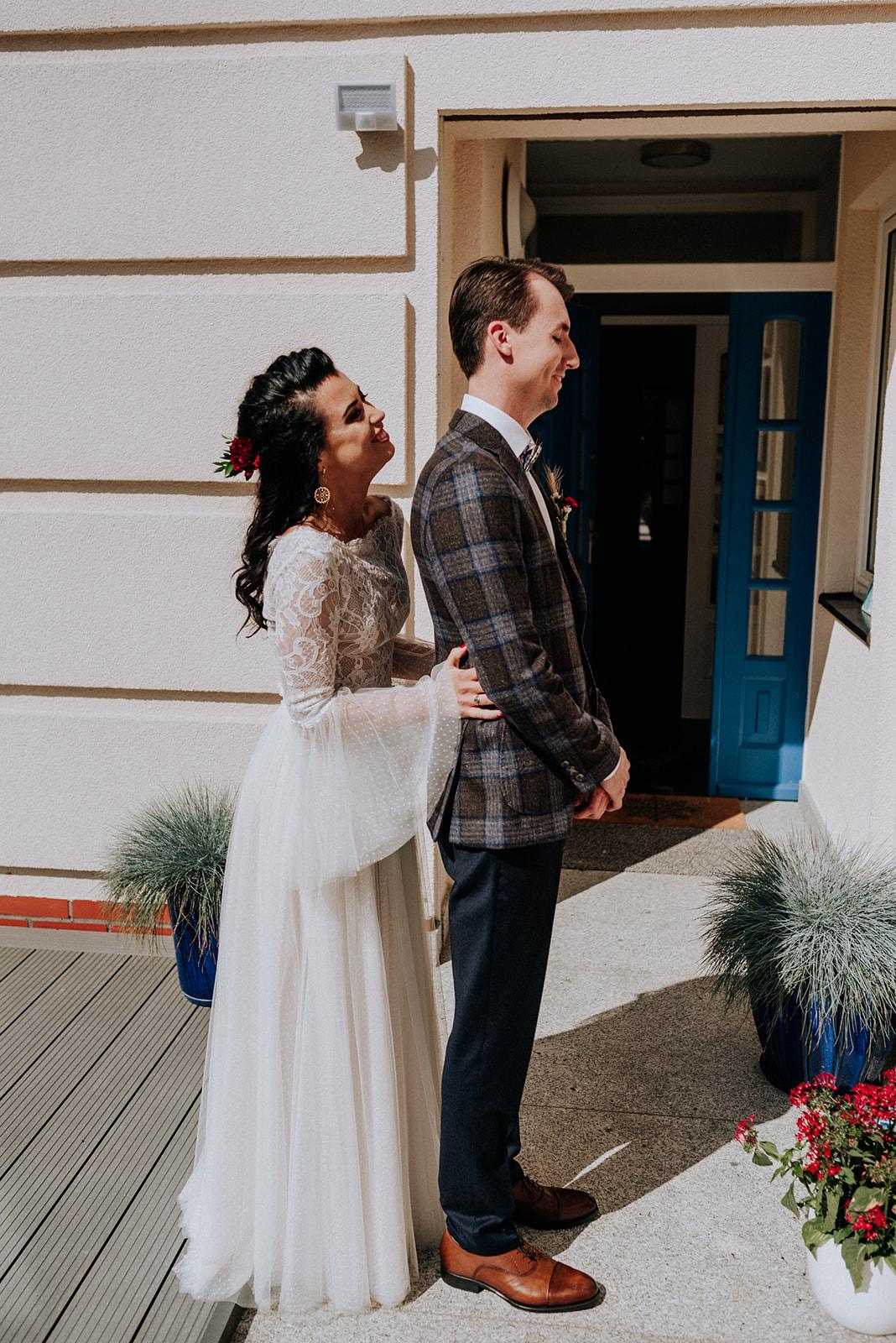 Baśniowy ślub w Tabunie | ceremonia w plenerze A+M 28 alebosco ania mateusz tabun 177