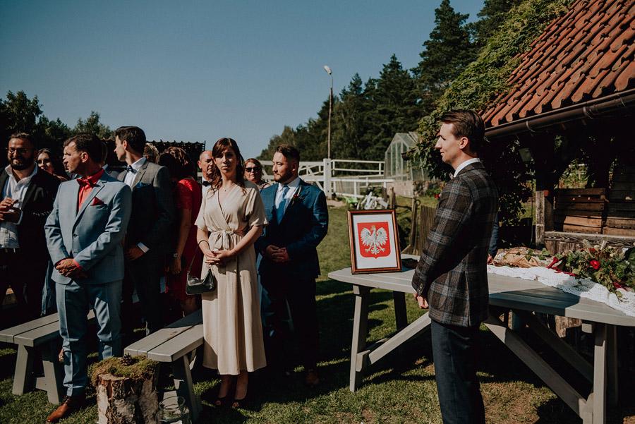 Baśniowy ślub w Tabunie | ceremonia w plenerze A+M 45 alebosco ania mateusz tabun 267