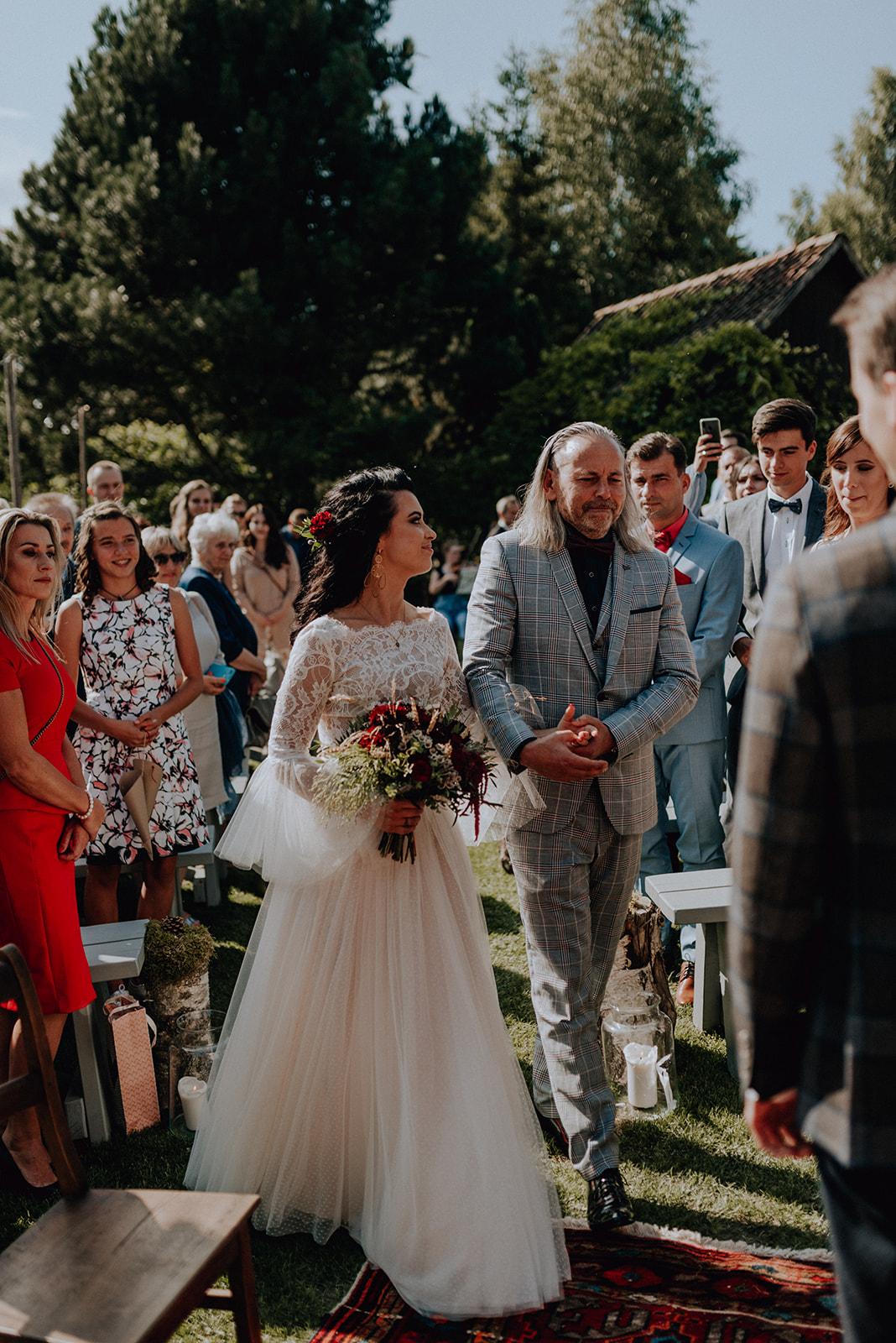 Baśniowy ślub w plenerze   Tabun w Otominie A+M 52 alebosco ania mateusz tabun 273