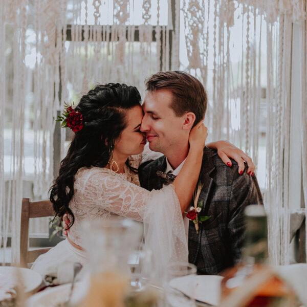 Baśniowy ślub w plenerze   Tabun w Otominie A+M