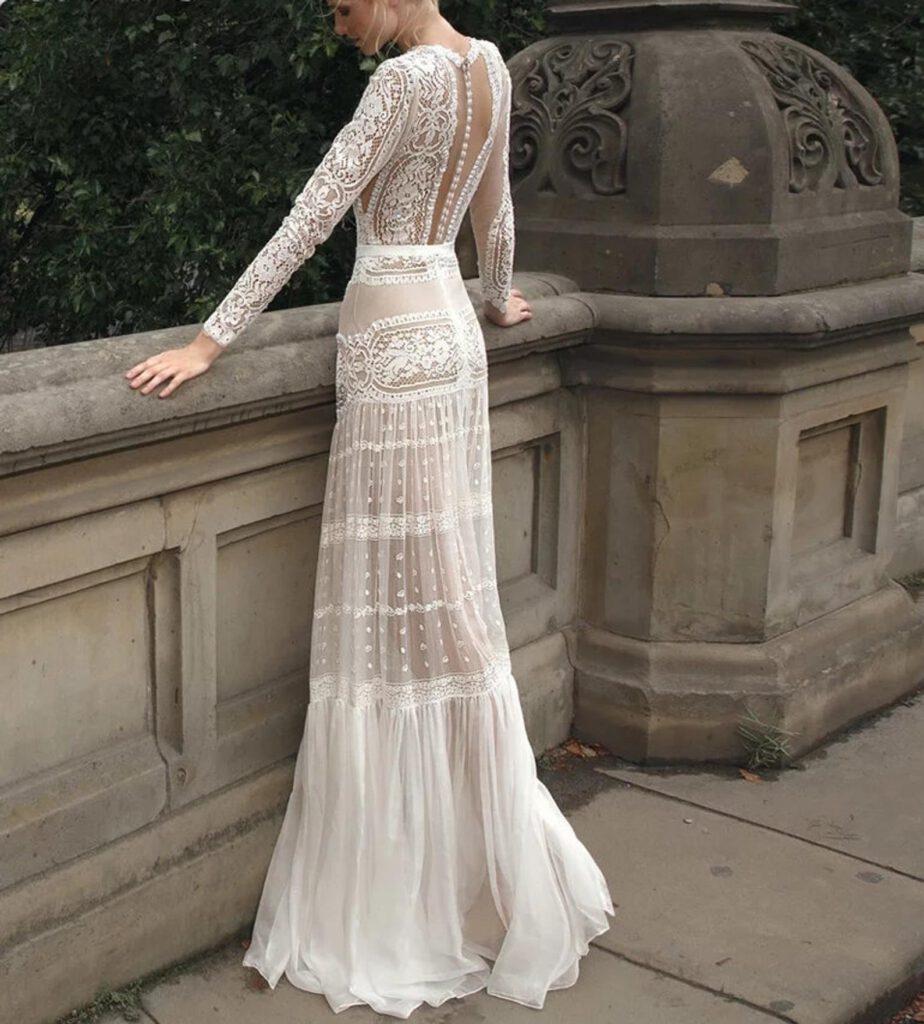 Najpiękniejsze suknie ślubne w stylu BOHO 8 ALEBOSCO CallisteBride EPHORIA