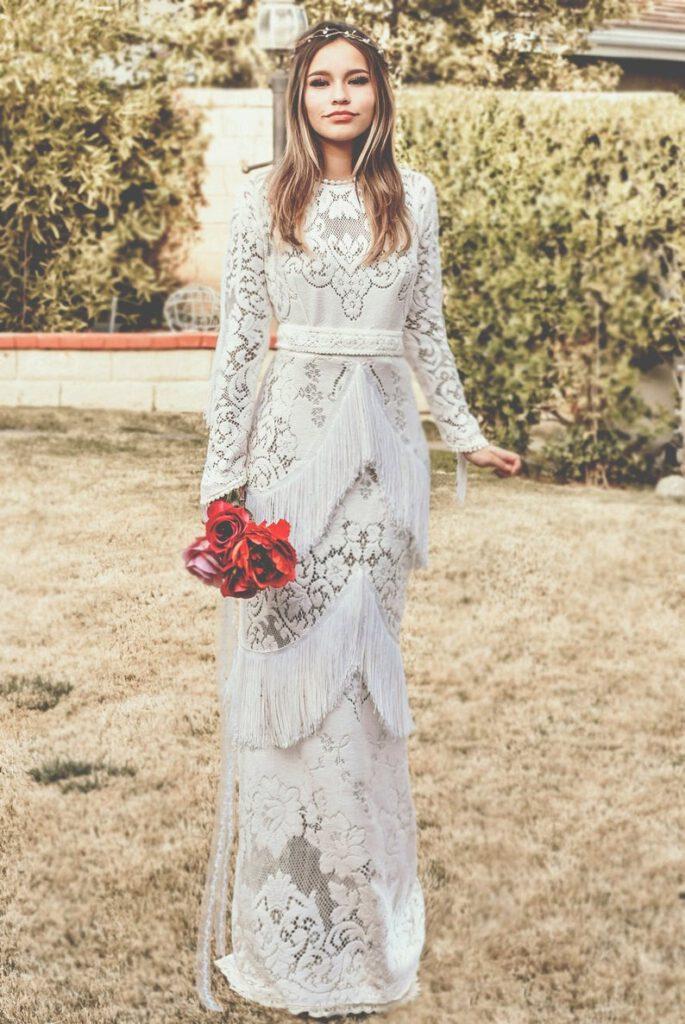 Najpiękniejsze suknie ślubne w stylu BOHO 9 ALEBOSCO SaldanaVintage Aria