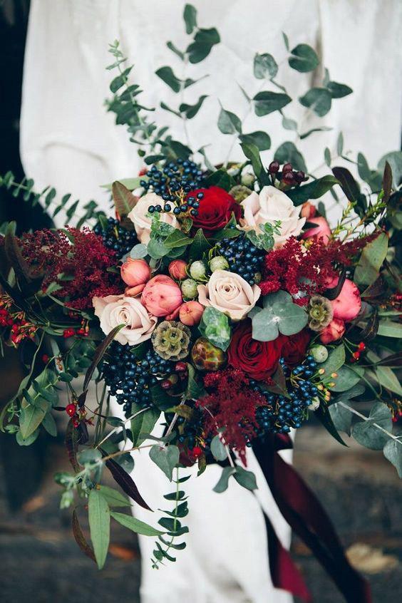 10 pomysłów na wyjątkowy ślub jesienią 31 jesienny slub inspiracje kwiaty