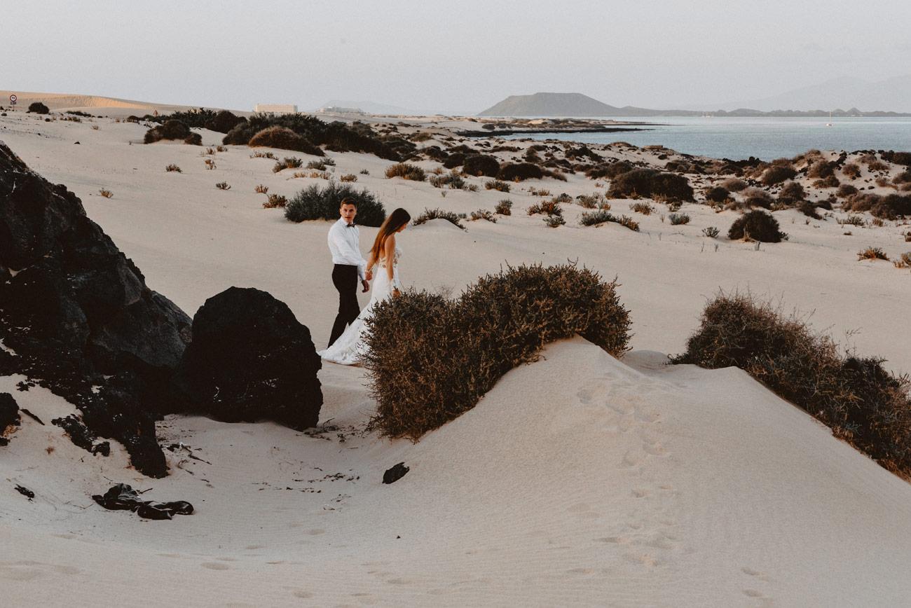 W krainie pomarańczowych piasków | Sesja na Fuerteventurze 4 173 alebosco sesja poslubna fuerteventura