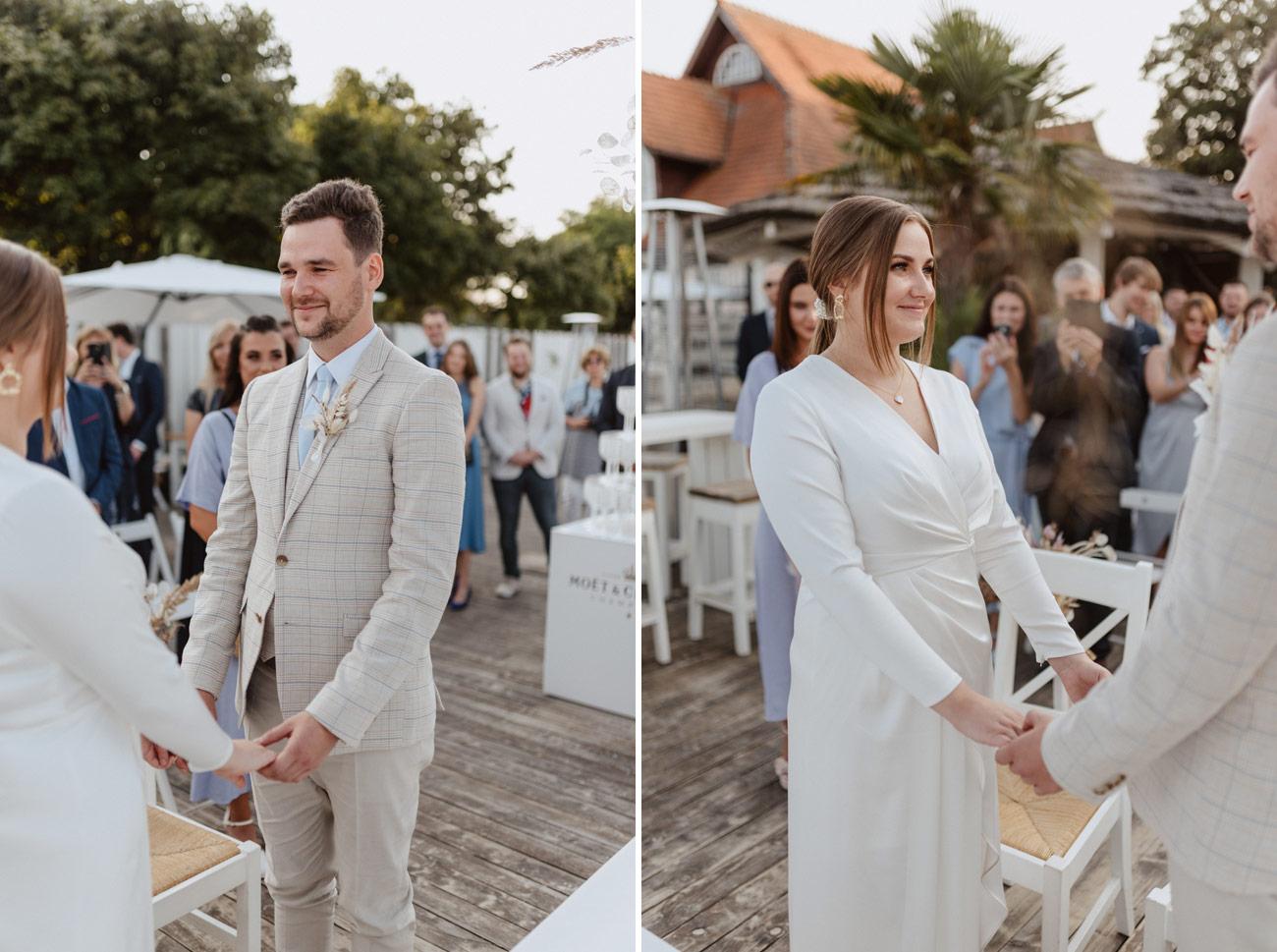 Minimalistyczny ślub na plaży | White Marlin A+K 47 242 alebosco ceremonia na plazy ak white marlin