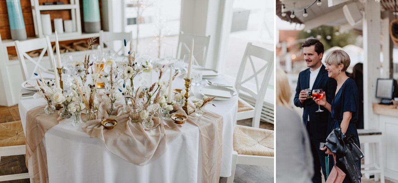 Minimalistyczny ślub na plaży | White Marlin A+K 60 257 alebosco ceremonia na plazy ak white marlin