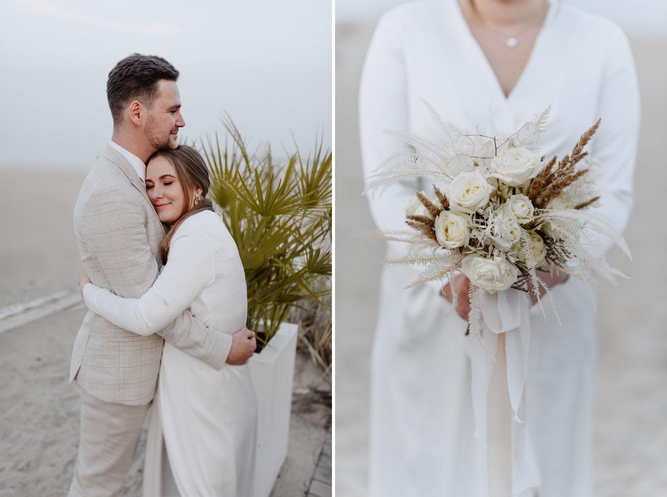 Minimalistyczny ślub na plaży | White Marlin A+K 81 279 alebosco ceremonia na plazy ak white marlin